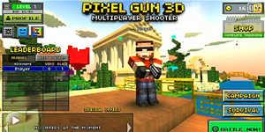 3D像素射击手游解说:我的世界FPS版好玩疯了